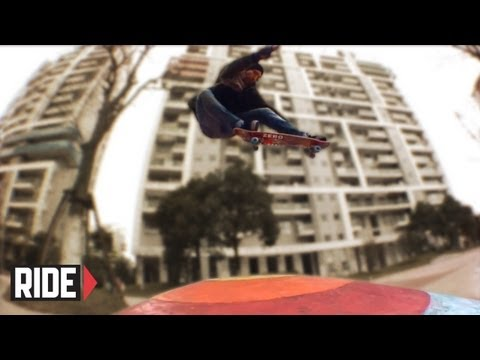 Jamie Thomas and Dane Burman Skate Shanghai China - LET THE GOOD TIMES ROLL