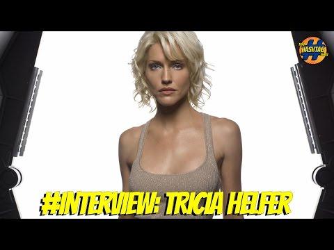 Tricia Helfer Talks Lucifer and New Battlestar Galactica  Saturn Awards 2016  That Hashtag