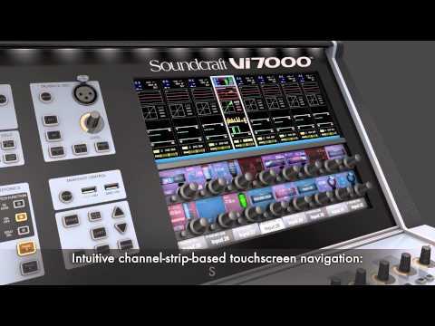 Soundcraft Vi5000/Vi7000 Overview