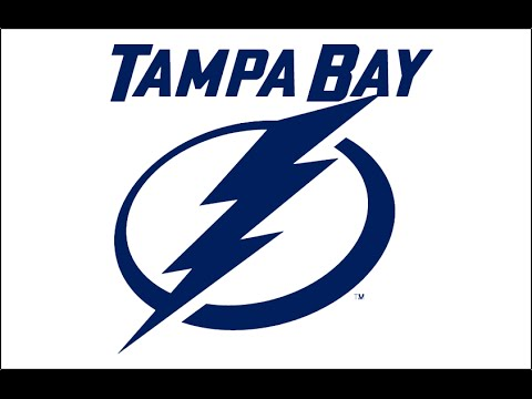 HOW TO DRAW THE TAMPA BAY LIGHTNING LOGO