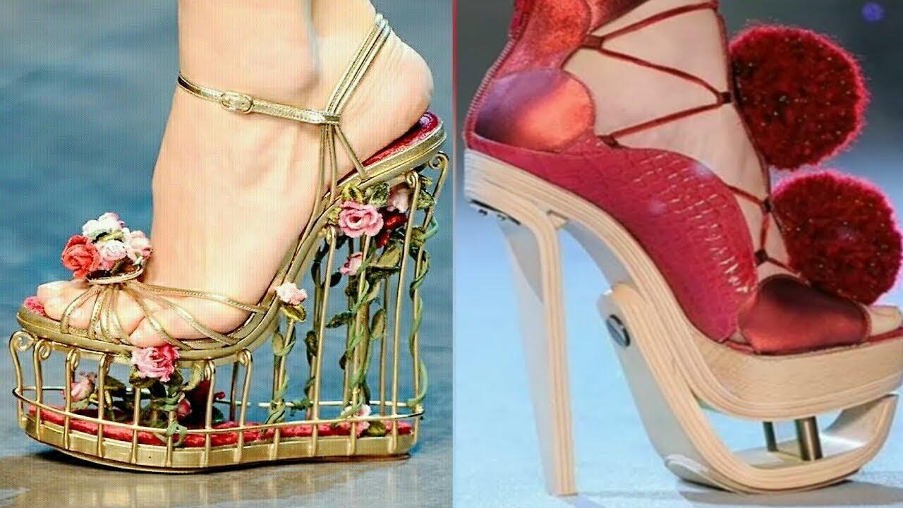 a05eba7c0cabd Stylish Party Wear Sandals Heels for Girls   Women - YouTube