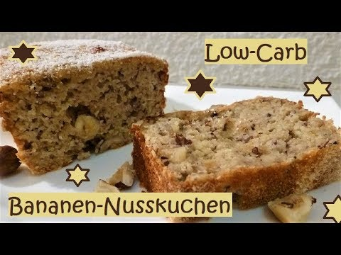 Low Carb Bananen Nusskuchen Youtube