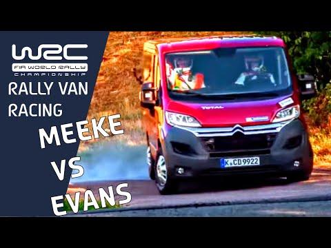 """WRC - The """"VAN"""" Special - MEEKE vs. EVANS"""