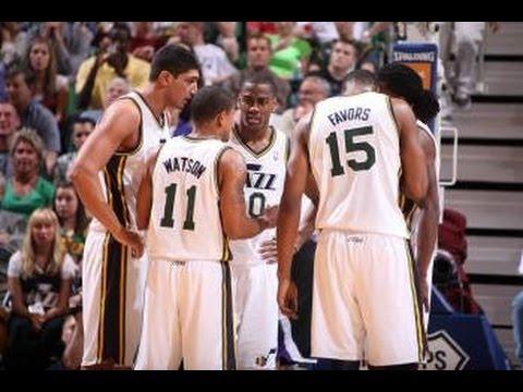 Utah Jazz Top 10 Plays of the 2012 Season