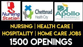 Life Science   Nursing   Health care jobs
