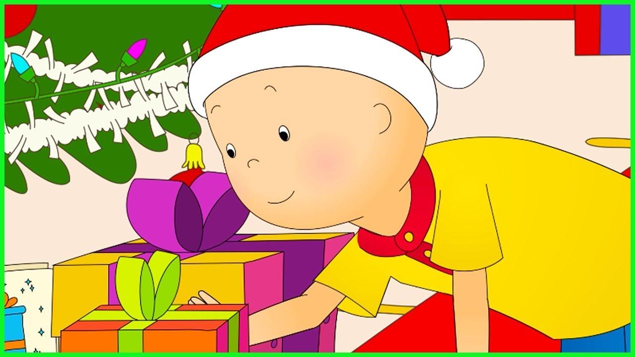 caillou en francais le cadeau de noel de caillou dessin anime en entier nouvel episode 2017