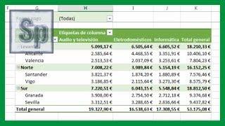 Excel - Crear tablas dinámicas en Excel. Claro y sencillo. Tutorial en español HD thumbnail
