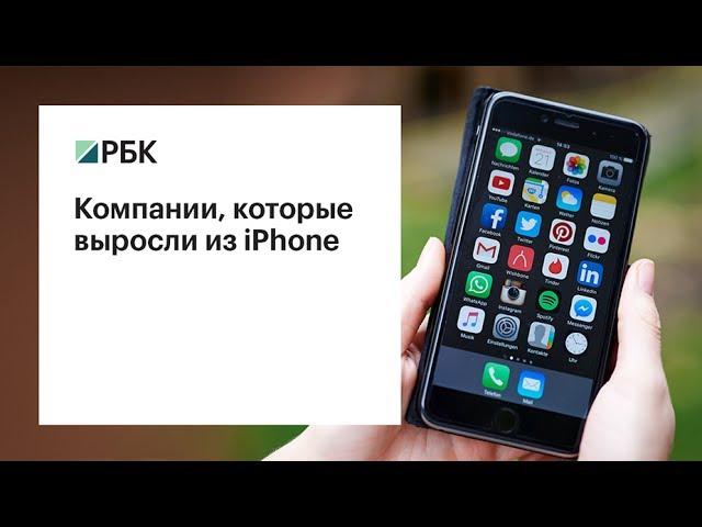 Какие компании выросли из iPhone