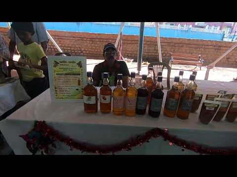 'Miracle wine cure' sans alcohol on sale in #Goa #farmers market #India from YouTube · Duration:  21 seconds
