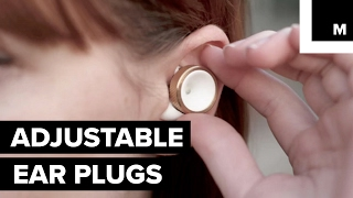 Mute the world around you with these ear plugs of the future