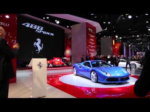 Ferrari 488 Spider | Salone di Francoforte 2015