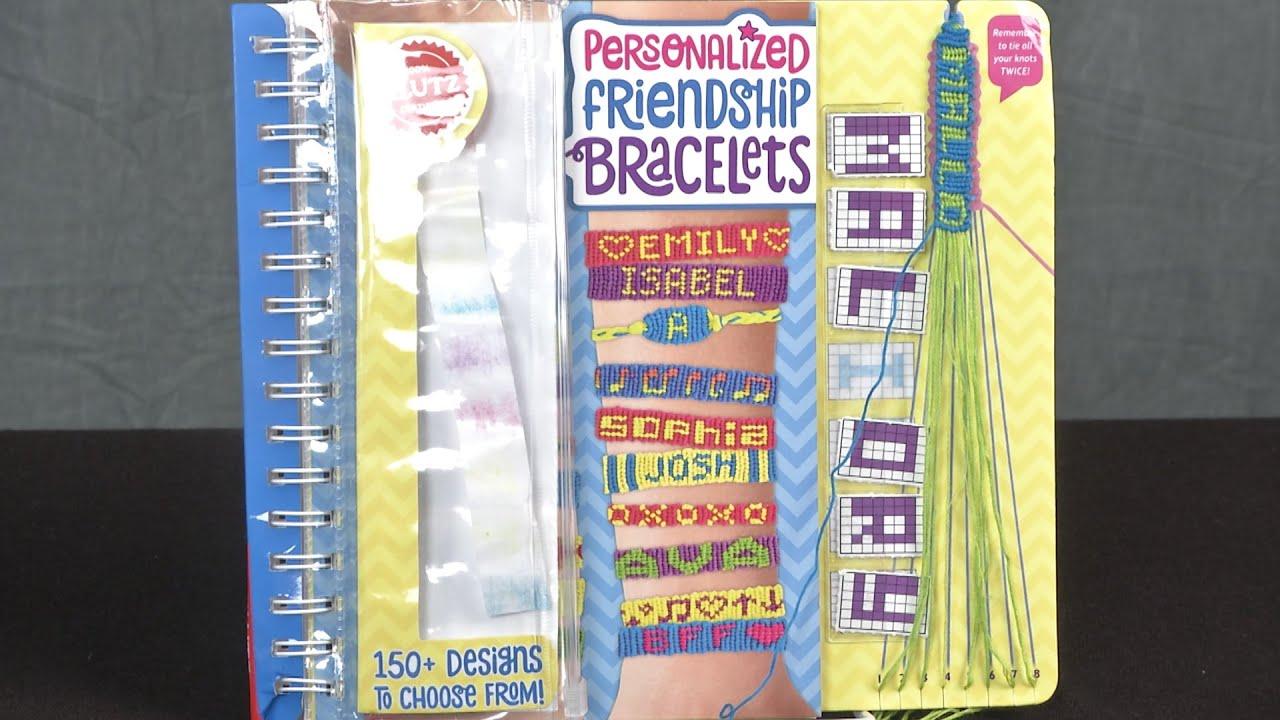 Personalized Friendship Bracelets From Klutz