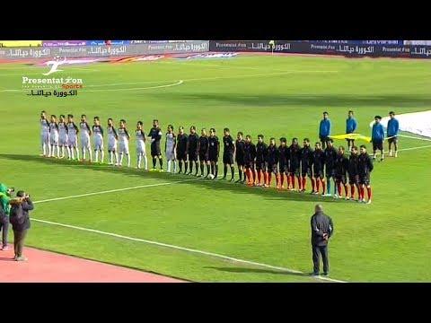 مباراة الرجاء vs الأهلي   الجولة 20 الدوري المصري الممتاز 2017 - 2018