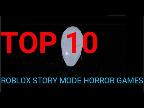 roblox story horror games