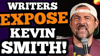 Kevin Smith EXPOSED by HIS He-man WRITERS and the media?! OOPS!
