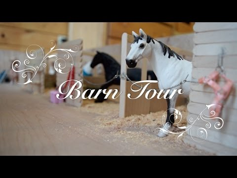 Schleich Barn Tour 2017 - Silver Star Stables