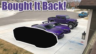 BUYING MY OLD SUPERCAR BACK!