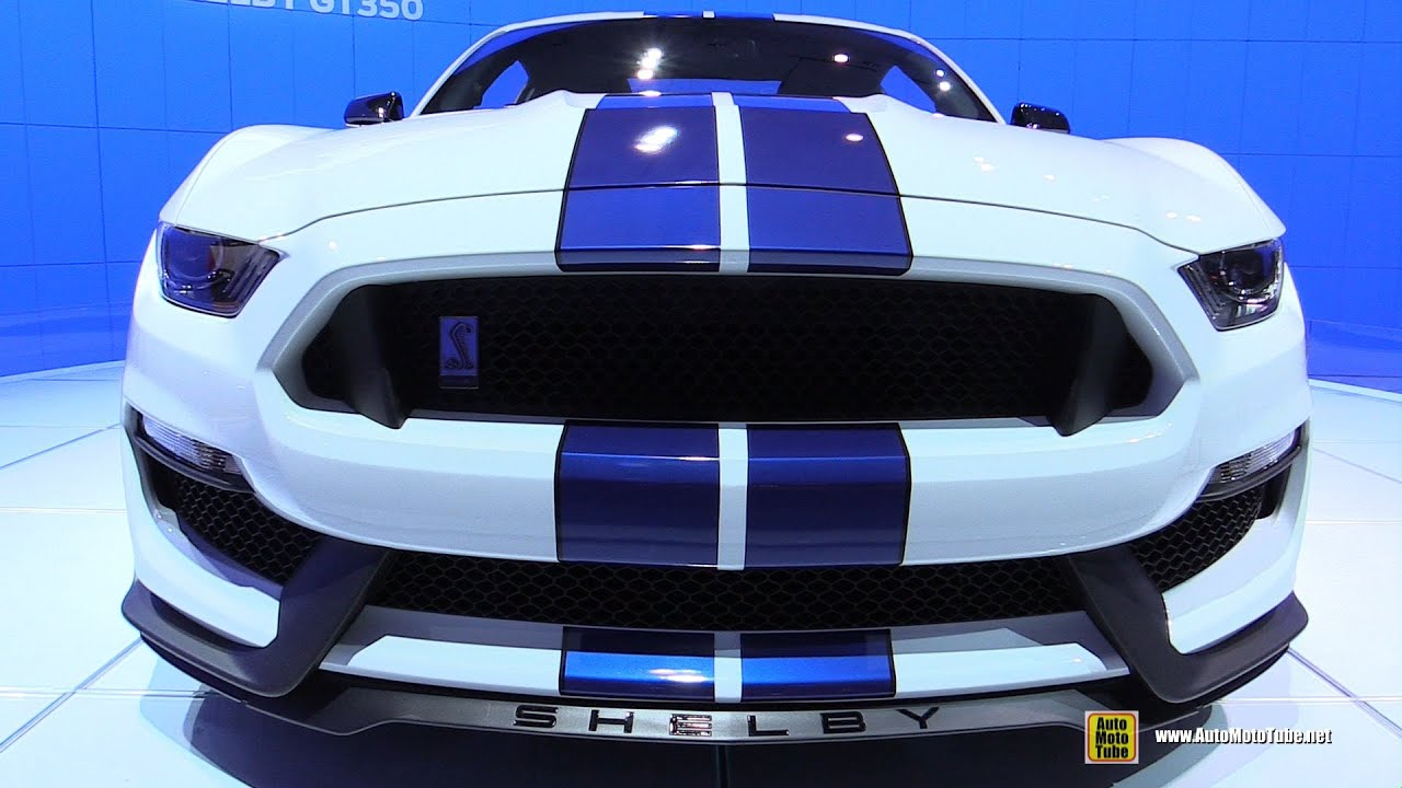 Ford Shelby Gt350r Interior >> 2015 Ford Mustang Shelby GT350 - Exterior and Interior ...