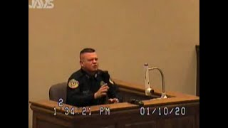 Watch a Cop Get his Case Crushed Before his Own Eyes: Observe his Face Changing During Questioning