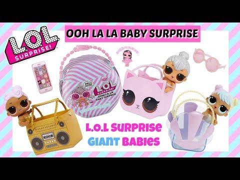LOL Surprise Ooh La La Baby Surprise Lil Kitty Queen, Lil DJ, and Lil Bon Bon Release Date UPC Code