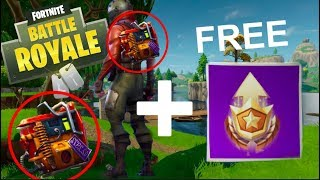 NEW FORTNITE BACK BLING AND FREE BATTLE STARS | Fortnite