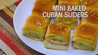 Kings Hawaiian Recipe: Mini Baked Cuban Sliders