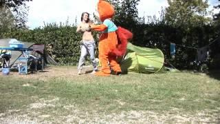 Lettycureuil, animation au Camping du Letty à Bénodet (29)