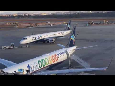 TRIP REPORT | Azul Airlines | ATR72-600 and EMB195 | Teixeira de Freitas ✈ São Paulo(GRU)
