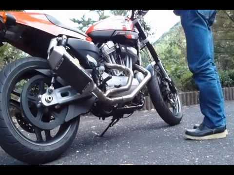 Xr1200 Fmf Carbon Apex Full Titanium Exhaust Youtube