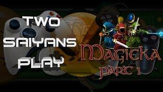 Two Saiyans Play: Magicka - Part 1