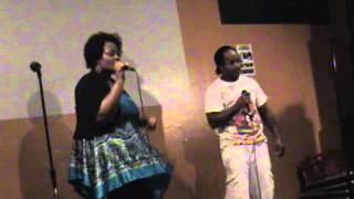 Rick James & Teena Marie - Fire and Desire - Karaoke By Curtis & Talisha