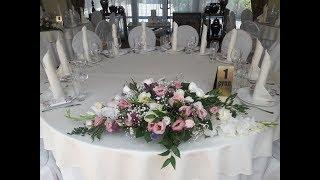 Оформление торжеств: шарами, живыми цветами, фото зона, шоколадки комплименты, рассадка гостей