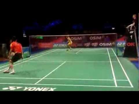 Lee Chong Wei the winner of Yonex Denmark Open 2012 Mens Single