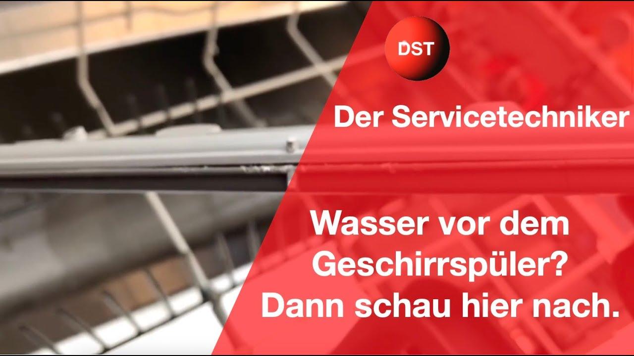 Gorenje Kühlschrank Wasser : Spülmaschine undicht wasser vor dem geschirrspüler youtube