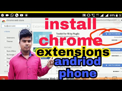 how to download chrome extension on android