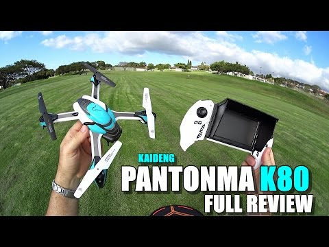 KAIDENG PANTONMA K80 Drone - Full Review - [UnBoxing, Inspection, Setup, Flight Test, Pros & Cons]