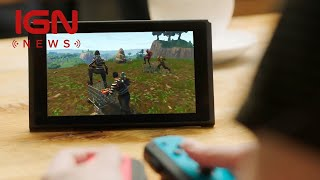 Fortnite on Switch Players Can't Carry Over PS4 Accounts - IGN News E3 2018