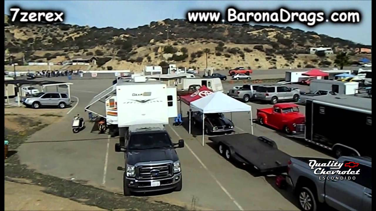 Barona drag strip
