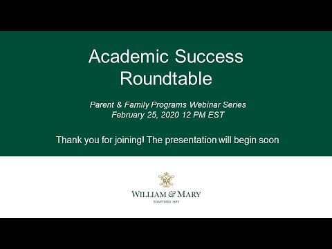 Academic Success Roundtable