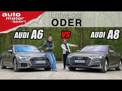 AUDI A6 vs A8| Entweder ODER | (Vergleich/Review) auto motor und sport
