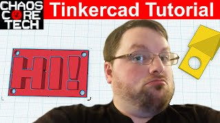 How to Make Models for 3D Printing - Tinkercad Beginner's Tutorial