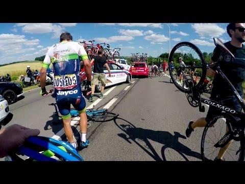 GoPro: Tour de France Stage 3 Crash Aftermath