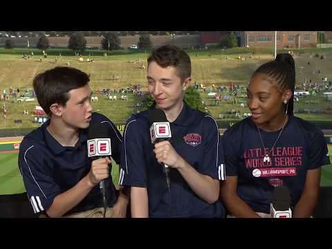 Teen From Fairfield Behind Mic For Little League World Series On ESPN