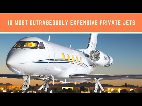 10 Most Outrageously Expensive Private Jets