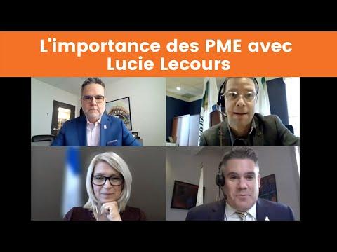 L'importance des PME avec Lucie Lecours