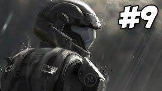 Halo 3 ODST Walkthrough   Kikowani Station   Part 9 (Xbox 360)