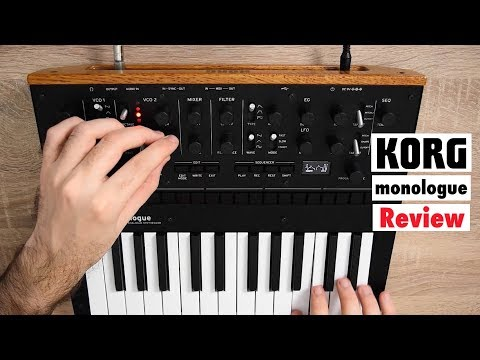 KORG monologue Analog Monophonic Synthesizer - Overview | Sound Demo | Review