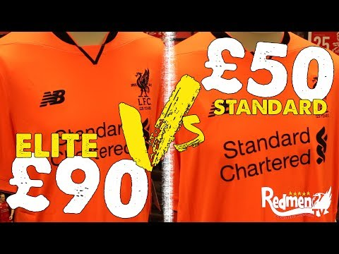 Liverpool ELITE and Standard Kits: WHAT'S THE DIFFERENCE?
