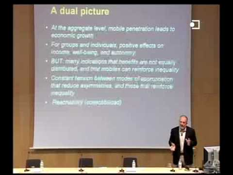 Mobile Phones and the Internet in Developing Contexts - by François Bar