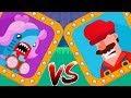 Bowmasters Funny Moments - Super Mario Vs Shark The Sea Princess Gameplay Walkth